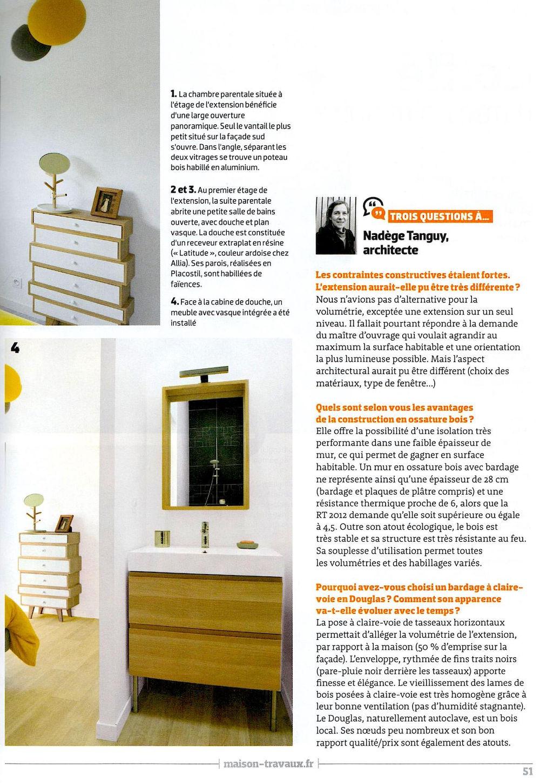 Grand prix de la rnovation maisons u travaux dcembre with for Architecte prix plan