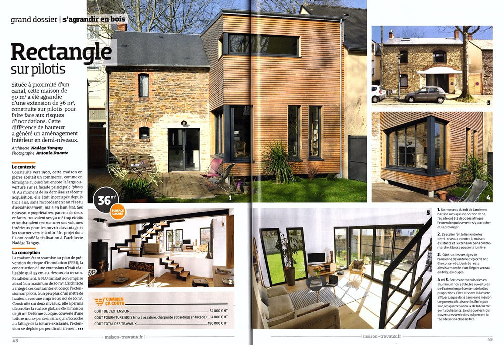 Faire Agrandir Sa Maison Beautiful Extension De Maison Quand La