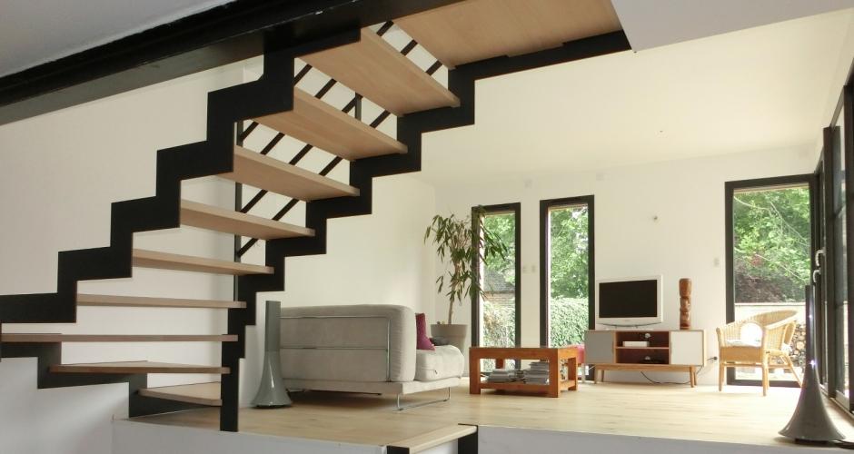 demi niveaux extension nad ge tanguy architecte dplg. Black Bedroom Furniture Sets. Home Design Ideas